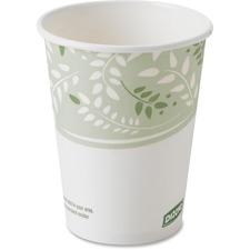 DXE 2338PLA Dixie Foods EcoSmart Viridian Paper Hot Cups DXE2338PLA