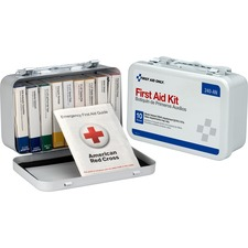 FAO 240AN First Aid Only 10-unit ANSI 64-piece First Aid Kit FAO240AN