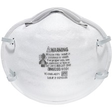 MMM 8200 3M N95 Particle Respirator 8200 Mask MMM8200