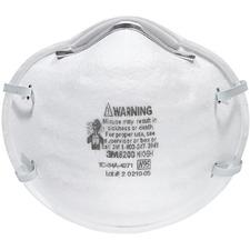 MMM 8200 3M N95 Particle Respirator 8200 Mask MMM8200