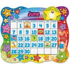 TEP T8194 Trend Star Calendar Bulletin Board Set TEPT8194