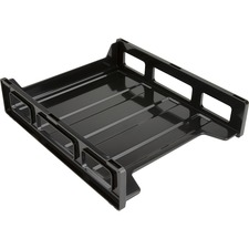 BSN 62884 Bus. Source Front-Load Stackable Letter Tray BSN62884