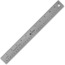 BSN 32361 Bus. Source Nonskid Stainless Steel Ruler BSN32361