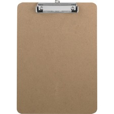 BSN 16508 Bus. Source Flat Clip Hardboard Clipboard BSN16508
