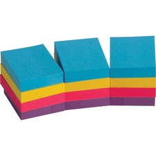BSN16498 - Business Source Extreme Color Adhesive Notes