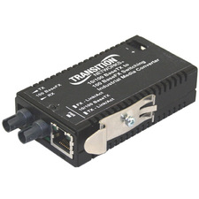 Transition Networks M/E-ISW-FX-01(SM) Fast Ethernet Media Converter