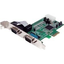 StarTech 2 Port Native PCI Express RS232 Serial Adapter