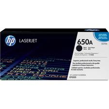 HP 650A Original Toner Cartridge - Single Pack - Laser - 13500 Pages - Black - 1 Each