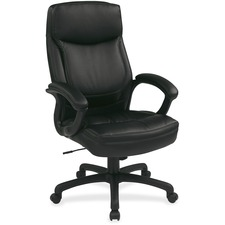 OSP EC6583EC3J Office Star Eco Leather Executive Seating Chair OSPEC6583EC3J