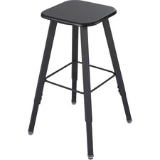 SAF 1205BL Safco AlphaBetter Adjustable-Height Student Stool SAF1205BL