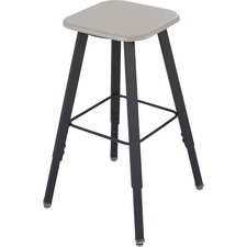 SAF 1205BE Safco AlphaBetter Adjustable-Height Student Stool SAF1205BE