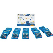 LRN LER0038 Learning Res. Primary Calculator Set LRNLER0038