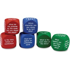 LRN LER7022 Learning Res. Reading Comprehension Cubes LRNLER7022