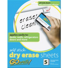PAC AS8511 Pacon Adhesive Dry Erase Sheets PACAS8511