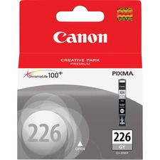 Canon CLI-226GY Original Ink Cartridge - Inkjet - 515 Pages - Gray - 1 Each