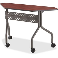 ICE 68078 Iceberg Officeworks Trapezoid Mobile Trning Table ICE68078