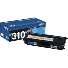 Brother Genuine TN310C Cyan Toner Cartridge
