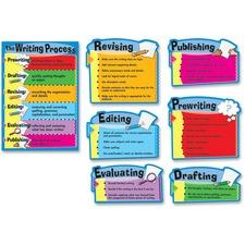 CDP 110014 Carson Gr 3-8 The Writing Process Bulletin Brd Set CDP110014