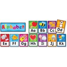 CDP119004 - Carson Dellosa Education PreK-Grade 2 Alphabet Bulletin Board Set