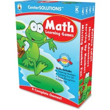 CDP 140050 Carson Grade K CenterSolutions Math Learning Games CDP140050
