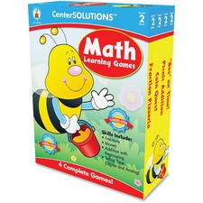 CDP 140052 Carson Grade 2 CenterSolutions Math Learning Games CDP140052