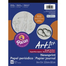 PAC 3440 Pacon Art1st Newsprint Pad  PAC3440