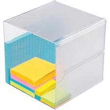 DEF 350401 Deflecto Plastic Cube Organizer  DEF350401