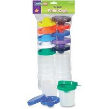 CKC 5100 Chenille Kraft No-Spill Paint Cups Assortment CKC5100
