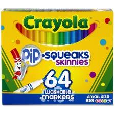 CYO 588764 Crayola Pip-Squeaks Washable Markers CYO588764