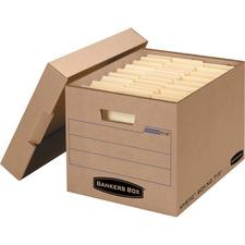 FEL 7150001 Fellowes Bankers Box Mystic Storage Box FEL7150001