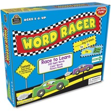 TCR 7811 Teacher Created Res. Word Racer Game TCR7811