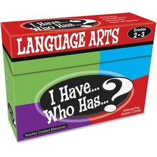 TCR 7813 Teacher Created Res. Grades 2-3 Lang. Arts Game TCR7813