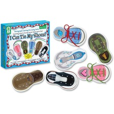 CDP 846000 Carson PreK-Grade 1 I Can Tie My Shoes Cards Set CDP846000