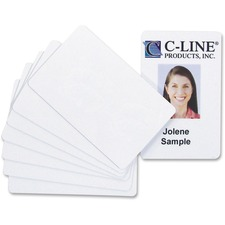 CLI 89007 C-Line Graphics Quality Video Grade PVC Cards CLI89007