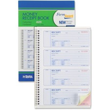 RED 8L808R Rediform Prestige Money Receipt Book RED8L808R