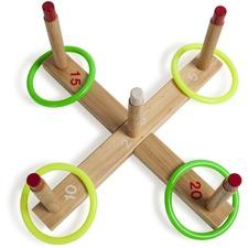CSI QS1 Champion Sports Wooden Target Ring Toss Set CSIQS1