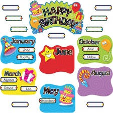 Trend Birthday Festival Mini Bulletin Board Set