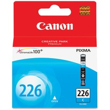 Canon CLI-226C Original Ink Cartridge - Inkjet - 535 Pages - Cyan - 1 Each