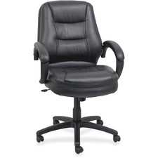 LLR63287 - Lorell Westlake Mid Back Managerial Chair