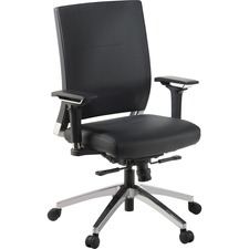 LLR 90040 Lorell Full Function Leather Exec Swivel Chair LLR90040