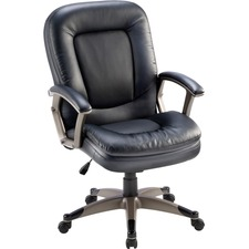 LLR69519 - Lorell Mid-Back Management Chair