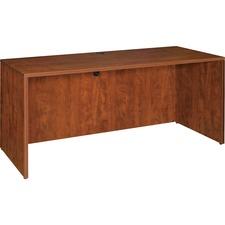 LLR 69413 Lorell Essentials Series Cherry Laminate Desking LLR69413