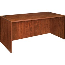 LLR 69409 Lorell Essentials Series Cherry Laminate Desking LLR69409