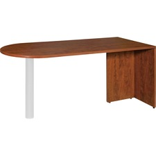 LLR 69415 Lorell Essentials Series Cherry Laminate Desking LLR69415