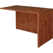 LLR 69421 Lorell Essentials Series Cherry Laminate Desking LLR69421