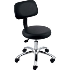 "LLR 69511 Lorell 16"" Round Seat Pneumatic Height Stool LLR69511"