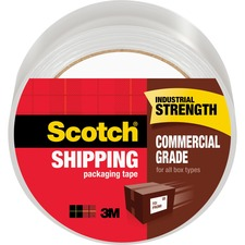 MMM 3750 3M Scotch Commercial Grade Packaging Tape MMM3750