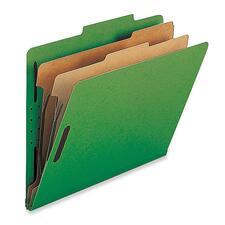 NAT SP17226 Nature Saver 2-Div Legal Classification Folders NATSP17226