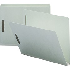 NAT SP17215 Nature Saver Str-cut Pressboard Fastener Folders NATSP17215