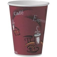 SCCOF12BI0041 - Solo Single Sided Paper Hot Cups